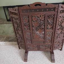 simple design wood fireplace screen cosy wooden screens gen4congress com