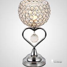 NEW Crystal Table Lamp Bedroom/Bedside Lamp Desk Light Lamp Fixtures 2073HC