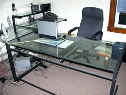 glass desk ikea canada wondrous office depot glass desk 129 trendy interior or l shaped glass top regarding l shaped glass 120 office depot glass desk 129