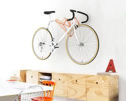 a heart shaped bike hanger designed for
