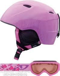 Giro Slingshot Youth Pack Ski Helmet Goggles Xs S Pink