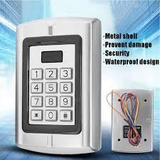 BC-2000 Password Keypad RFID Card Reader Entry Door Lock Access ...