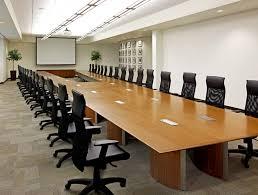 installations 50 foot long custom boardroom table