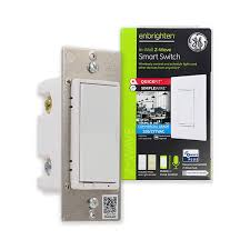 ge enbrighten z wave commercial grade in wall smart switch with quickfit and