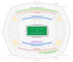 Paradigmatic Metlife Stadium Suites Seating Chart New York
