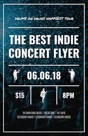 band flyer generator placeit online flyer maker for concert flyers