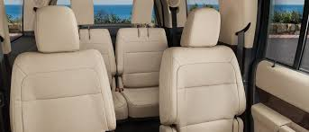 2019 ford flex limited seven penger interior plus second row bucket seats and power fold third