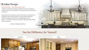 Kitchen Website Design Exterior