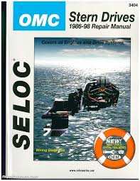 omc cobra stern drive boat engine repair manual 1986 1998 seloc 93 Omc Wiring Diagram omc cobra stern drive boat engine repair manual 1986 1998 seloc sl3404 ebay OMC Cobra 3.0 Wiring Diagrams