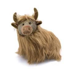 dora designs fergus highland cow