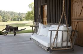7 Amazing Swing Beds or Bed Swings }