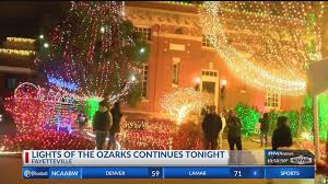 Fayetteville Lighting Of The Square Lights Of The Ozarks Fayetteville Ar Address