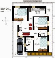 36 r29 3bhk in 30x40 west facing requested plan