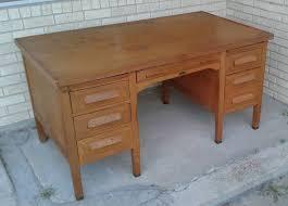 old office desk. Wooden Office Desk Vintage Work Antique Old S