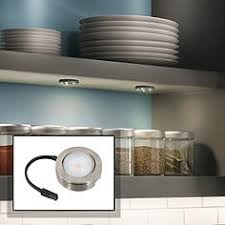 under cabinet lighting plug in. MVP Nickel Under Cabinet LED Single Puck Light Plug-In Kit Lighting Plug In X