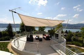 Sonnensegel In Edlem Design F R Terrasse Und Garten