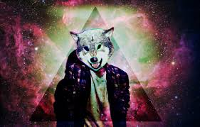 galaxy tumblr hipster wolf. Interesting Wolf Wolf Hipster And Galaxy Image Throughout Galaxy Tumblr Hipster Wolf M