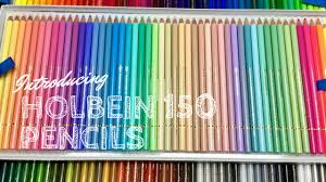 Holbein Colored Pencils 150 Pc Set Review Colored