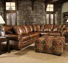 rustic leather sofa. Catchy Rustic Sectional Sofas With Chaise Top Leather Sofa Couch O