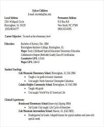 4th Grade Teacher Resume Special Education Teacher Resume 1st Year Template U2013