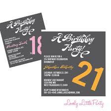 create 21st birthday invitations free