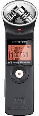 Диктофон <b>ZOOM</b> H1 black — купить <b>цифровой диктофон</b> по ...