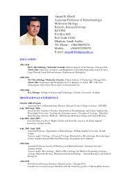 Standard Professional Resume Format It Resume Cover Letter Sample