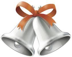 orange clipart png. wedding bells orange clipart png