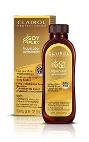 Clairol Soy 4plex Hair Color Chart Clairol Professional Soy 4 Plex Liquicolor Permanente Hair