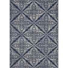 andover mills blue grey area rug reviews wayfairca