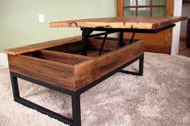 diy lift top coffee table wood