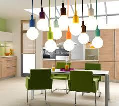 kitchen blue pendant lighting bar lamp