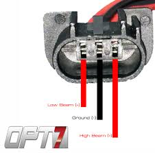 h13 9008 bi xenon hid conversion kit low beam works but high beam explanation the live low or high wires do not require a ground to function correctly so if the low beam and ground or high beam and ground wires are