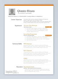 Free Word Resume Templates Amazing Word Resume Template 48 Greenproducts