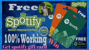 how to get free spotify gift card free spotify gift card giveaway