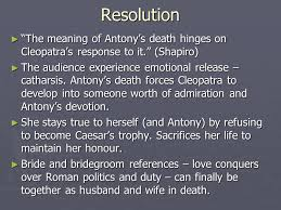 antony s flaw and tragic downfall ppt video online resolution the meaning of antony s death hinges on cleopatra s response to it shapiro