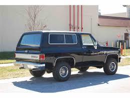 1985 Chevrolet Blazer for Sale | ClassicCars.com | CC-1031144