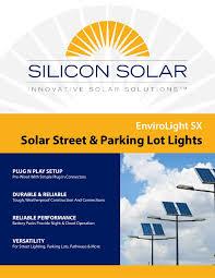 SOS750S36 Single Solar LED Street Light With Sun Tracker Solar Street Light Brochure