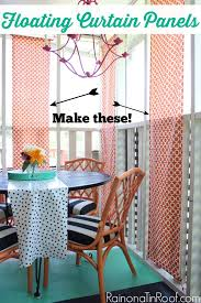 diy floating curtain panels diy outdoor curtains how to make outdoor curtains outdoor