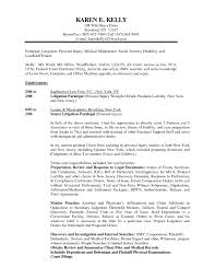 Personal Injury Paralegal Resume Personal Injury Paralegal Resume Free Resume Templates 1