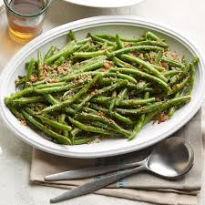 green bean recipe. Wonderful Bean Green Beans With ParmesanGarlic Breadcrumbs Intended Bean Recipe S
