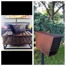 custom metal mailbox. Simple Mailbox The Sez Industrial Custom Metal Mailbox Mid Century Modern With