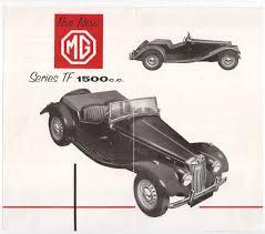 the original mgtf midget brochures original mgtf 1500 brochure provided by matthew magilton