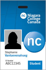 Identity Card Format For Student Id Cards Niagara College