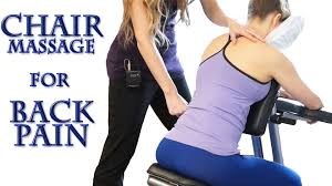chair massage. how to chair massage for back pain: neck, shoulders, back, most relaxing techniques asmr - youtube