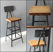 antique white bar stools. Full Size Of Reclaimed Wood And Metal Bar Stools How To Reupholster Stool Antique White Chairs 3