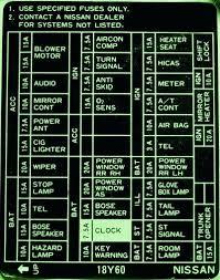 1998 Nissan Maxima Fuse Chart 98 Nissan Maxima Radio Wiring Diagram For Option Engine New