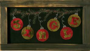 jingle holiday wall decor on primitive christmas wall art with 12 days of christmas day 5 seams and scissors