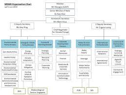 Mewr Organisation Chart
