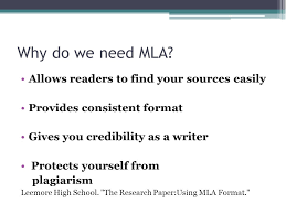 Mla Formatted Introduction To Mla Format Ppt Video Online Download